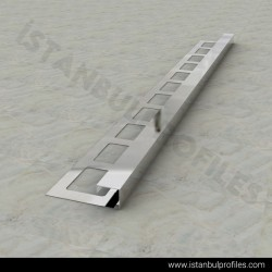 Square Edge (Box) Tile Trims With Hook